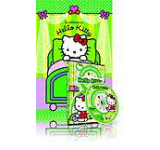 Pachet Hello Kitty 2: DVD Sa decoram un loc vesel si carte In calatorie cu Hello Kitty