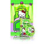Pachet Hello Kitty 2: DVD Sa decoram un loc vesel si carte In calatorie cu Hello Kitty