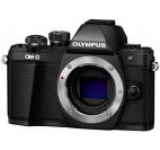 Aparat Foto Mirrorless Olympus E-M10 Mark II, Body, 16.1 MP, Filmare Full HD (Negru)