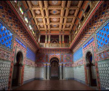 Superbul Castello di Sammezzano - abandonat de 20 de ani