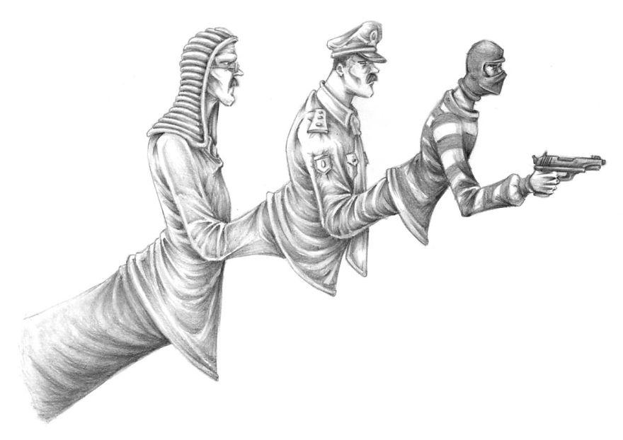 Problemele societatii actuale, in ilustratii rascolitor de sincere - Poza 17
