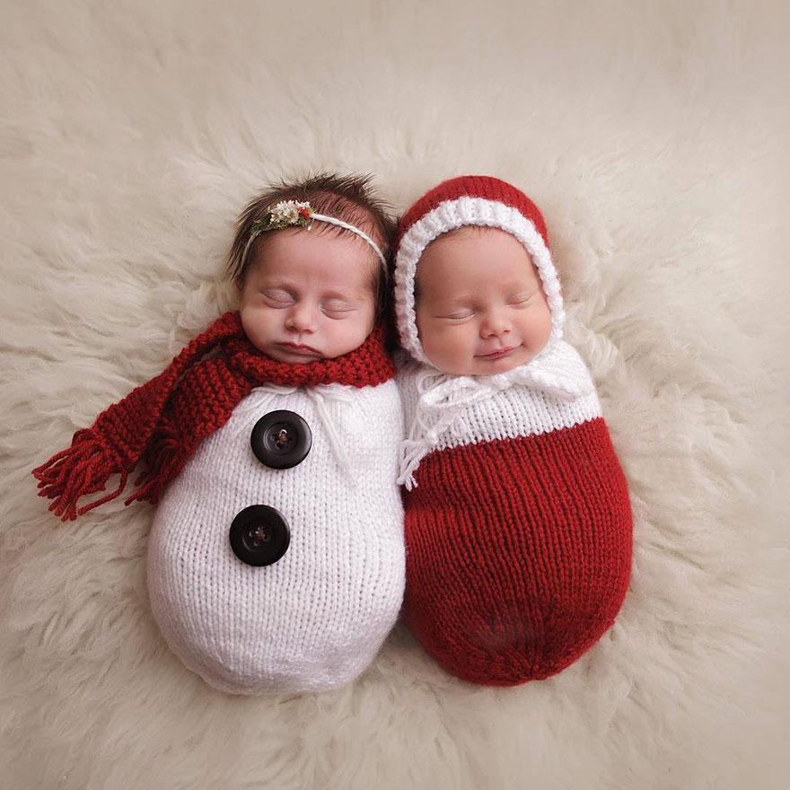 15+ Bebelusi adorabili in asteptarea Craciunului - Poza 2