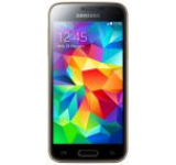 Telefon Mobil Samsung Galaxy S5 Mini, Procesor Quad Core 1.4GHz Cortex-A7, Super AMOLED 4.5inch, 1.5GB RAM, 16GB Flash, 8MP, 4G, Wi-Fi, Android (Auriu)