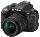 Aparat Foto D-SLR Nikon D3300 Kit 18-55mm, Filmare Full HD, Rezolutie 24.2 MegaPixeli (Negru)