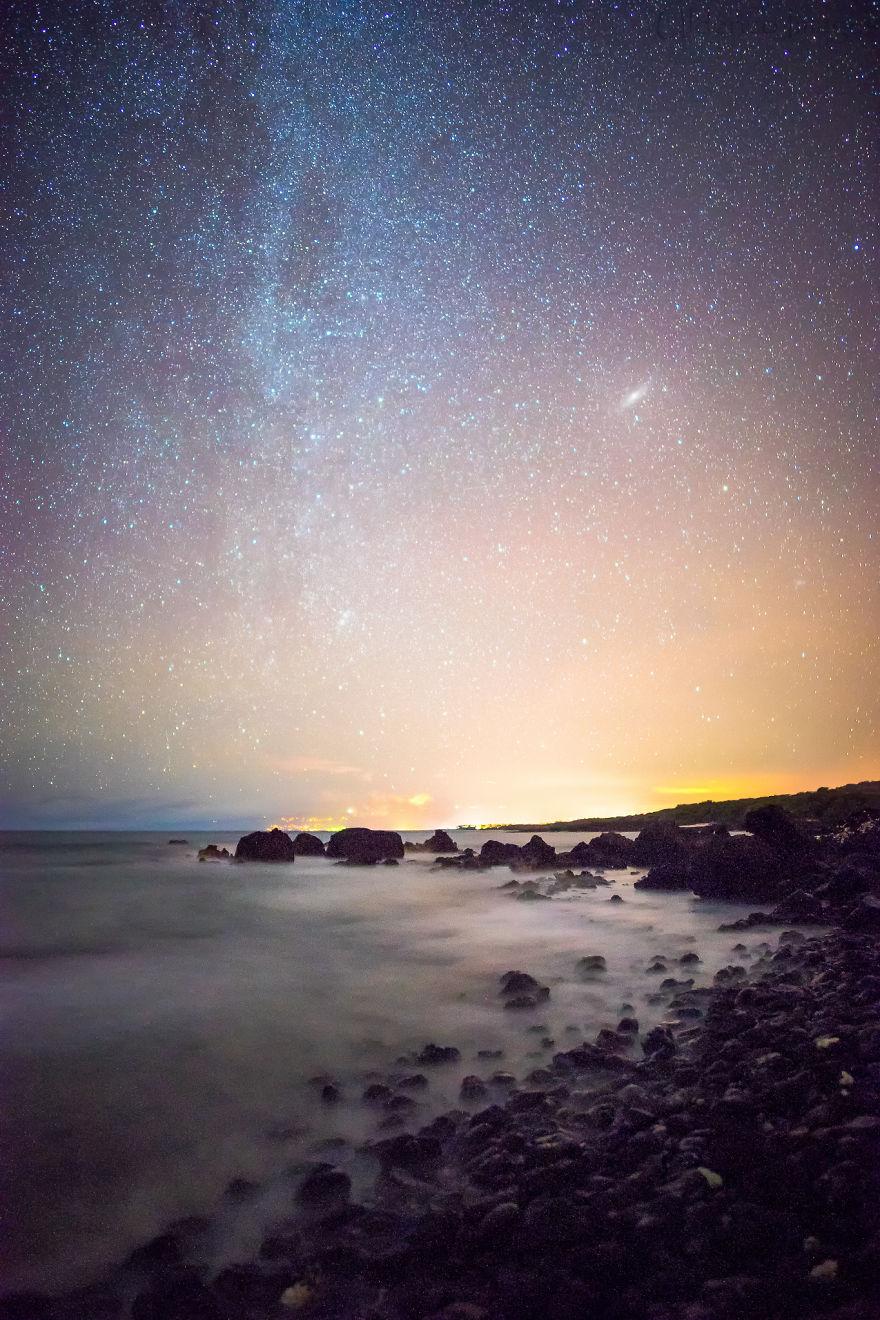 Lumina noptii: Un dans al Caii Lactee, in miezul verii - Poza 10