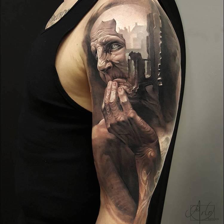 Tatuaje impresionante suprarealiste, de Alro DiCristina - Poza 8