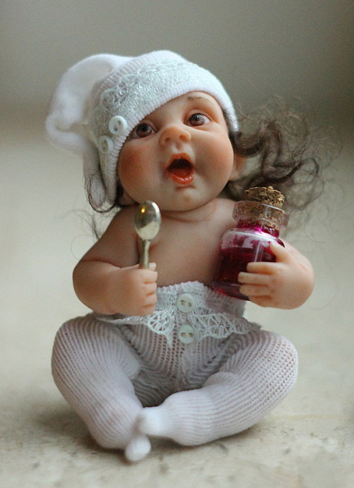 Papusi realiste superbe, de Elena Kirilenko - Poza 20