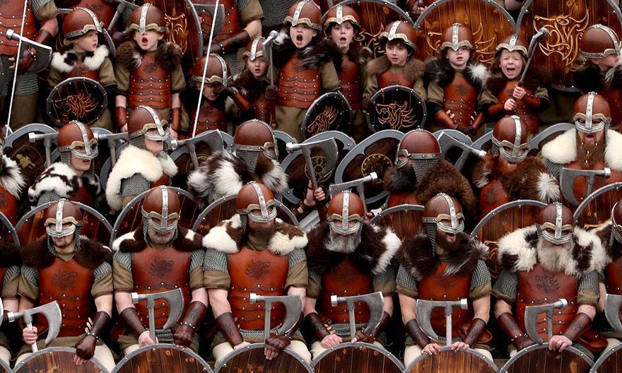 Festivalul legendar al vikingilor, in fotografii epice - Poza 3