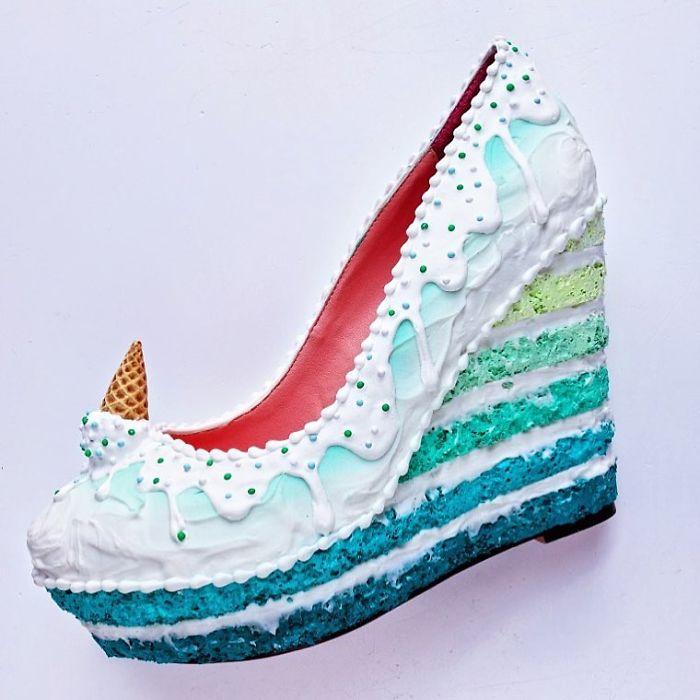 Pantofii cu aspect de prajituri, la mare moda in acest sezon - Poza 12