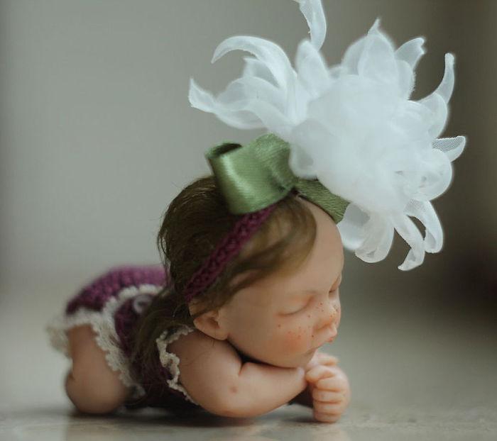 Papusi realiste superbe, de Elena Kirilenko - Poza 9