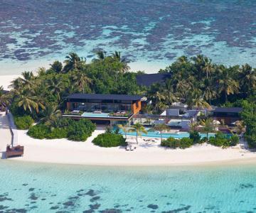 Cum arata o statiune privata din Insulele Maldive?