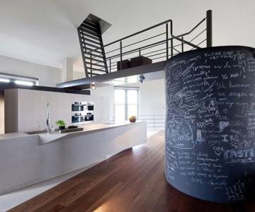 Casa intr-un turn de apa din Belgia