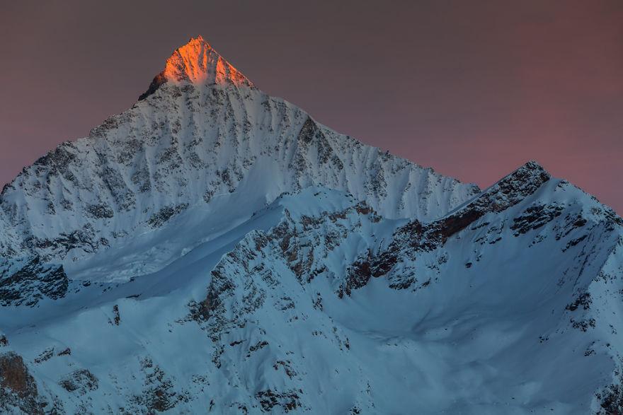 Maretia Alpilor pe timp de iarna - Poza 16