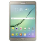 Tableta Samsung Galaxy Tab S2 8inch (2016) T713, Procesor Octa-Core 1.8GHz / 1.4GHz, Super Amoled Capacitive touchscreen 8inch, 3GB RAM, 32GB, 8MP, Wi-Fi, Android (Auriu)