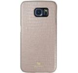 Protectie spate Just Must Croco JMCRG920BG pentru Samsung Galaxy S6 (Bej)