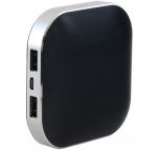 Acumulator extern Panasonic Alpha, 9000 mAh, 2x USB, Universal (Negru)
