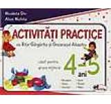 Activitati practice cu Rita-Gargarita si Greierasul Albastru pentru grupa mijlocie 4-5 ani