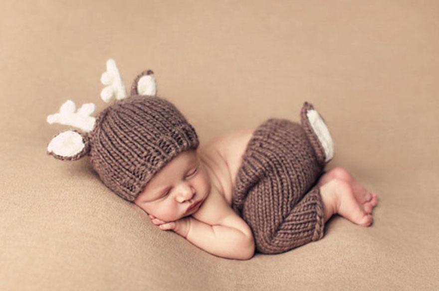 15+ Bebelusi adorabili in asteptarea Craciunului - Poza 11