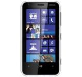 Telefon Mobil Nokia Lumia 620, Procesor Krait 1GHz, Windows Phone 8, TFT capacitive touchscreen 3.8inch, 512MB RAM, 8GB flash, Wi-Fi, 3G (Alb)