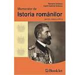Memorator de istoria romanilor pentru clasa a XII-a