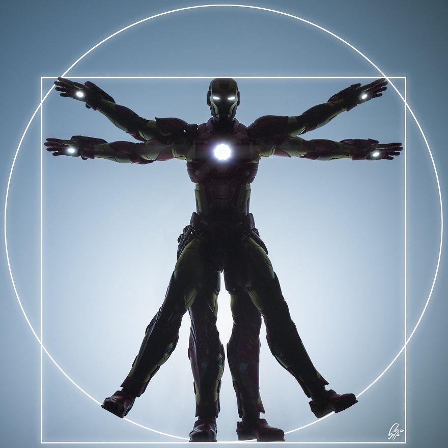 Istoria artei cu supereroi Marvel - Poza 2
