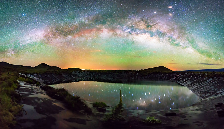 Lumina noptii: Un dans al Caii Lactee, in miezul verii - Poza 1