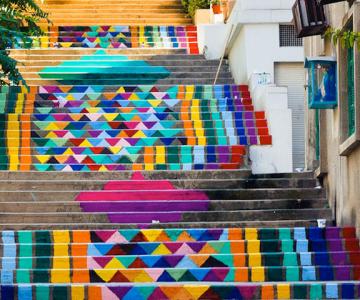 Scarile colorate din Beirut