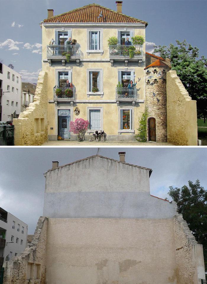 Arta stradala: Cele mai frumoase picturi pe cladiri - Poza 16