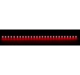 Bara rigida Nanoxia, 27 LED-uri ultra-luminoase, 30 cm (Rosu)