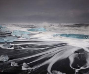 Ghetarii albastri din Islanda