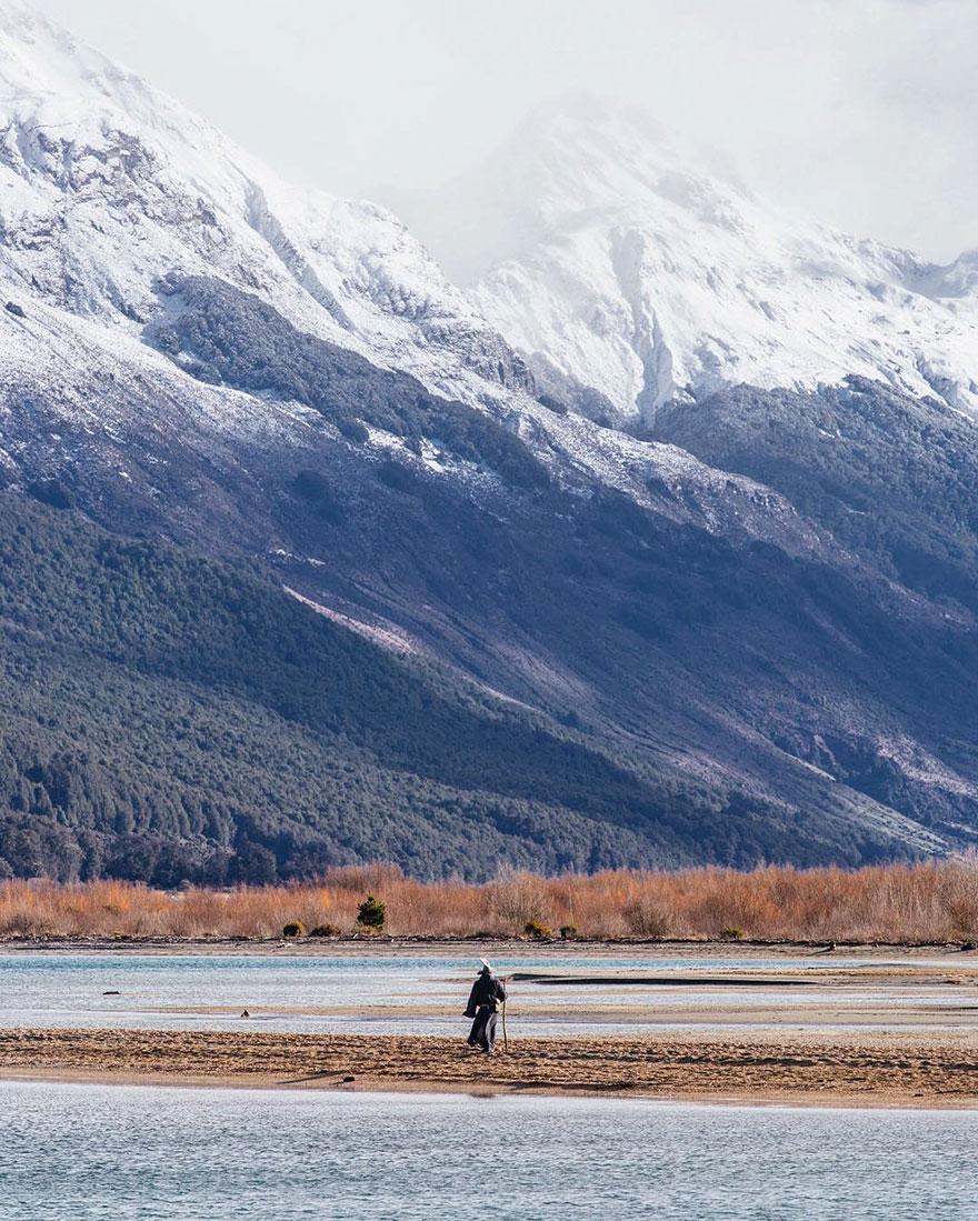Calatoria lui Gandalf prin Noua Zeelanda, in poze epice - Poza 13