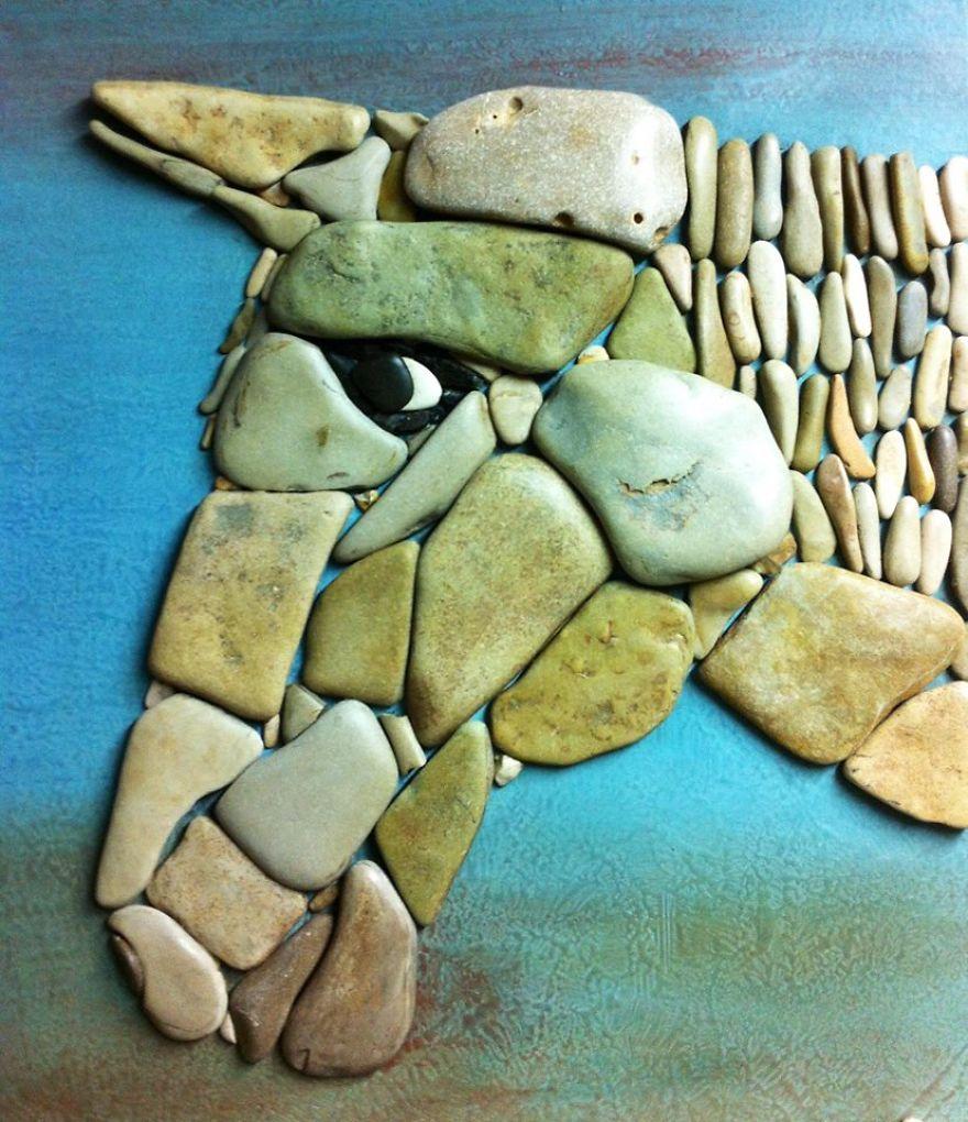 Creatii artistice cu pietre - Poza 20