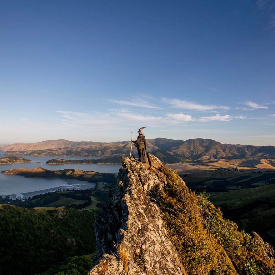 Calatoria lui Gandalf prin Noua Zeelanda, in poze epice - Poza 3