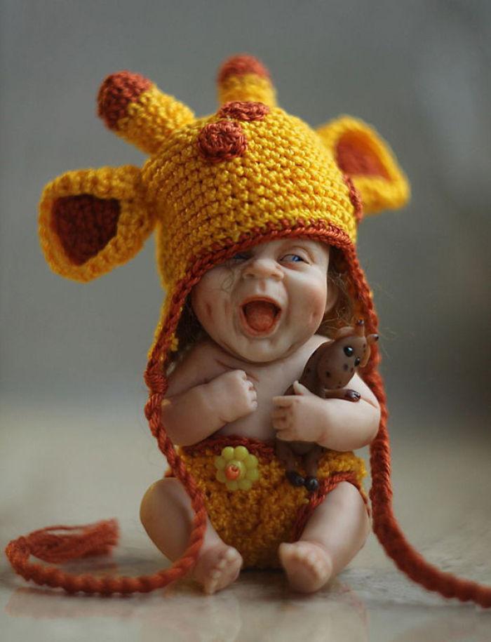 Papusi realiste superbe, de Elena Kirilenko - Poza 8