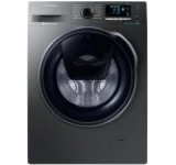 Masina de spalat rufe Samsung Eco Bubble WW90K6414QX, 1400 RPM, 9 kg, Clasa A+++ (Inox)