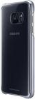 Protectie spate Samsung EF-QG930 pentru Samsung Galaxy S7 (Transparent/Negru)