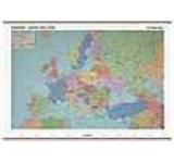 Europa harta fizica + harta contur (sipci de lemn)