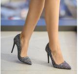 Pantofi Santa Negru Mixt
