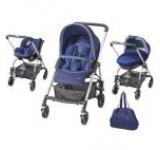 Carucior copii 3in1 Bebe Confort Trio Streety Next 19478970 (Albastru)