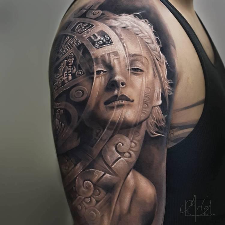 Tatuaje impresionante suprarealiste, de Alro DiCristina - Poza 11