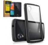 Protectie spate Ringke Fusion 154120 pentru LG Google Nexus 5 (Negru) + Folie protectie