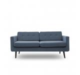 Canapea Fixa 3 locuri Sondero Light Blue/Black