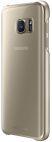 Protectie spate Samsung EF-QG930 pentru Samsung Galaxy S7 (Transparent/Auriu)