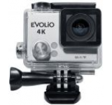 Camera Video de Actiune Evolio ISMART4K, Filmare Ultra HD 4K, 12 MP, WiFi, Carcasa waterproof inclusa (Argintie)