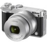 Aparat Foto Mirrorless NIKON 1 J5 (Negru/Argintiu), cu Obiectiv 10-30mm VR PD-Zoom, Filmare Full HD, 20.8 MP, Wi-Fi