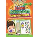 Jocuri pentru copii inteligenti. Carte de activitati +5 ani