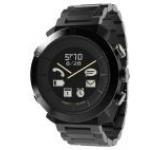 Smartwatch Cogito Classic Metal PGD00037, Bluetooth, Rezistent la apa 100M, curea metalica (Negru)