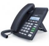Telefon IP Fanvil X3, LCD 128x64, HD Voice, 2 linii SIP, PoE (Negru)