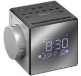 Radio cu ceas Sony ICFC1PJ (Argintiu)