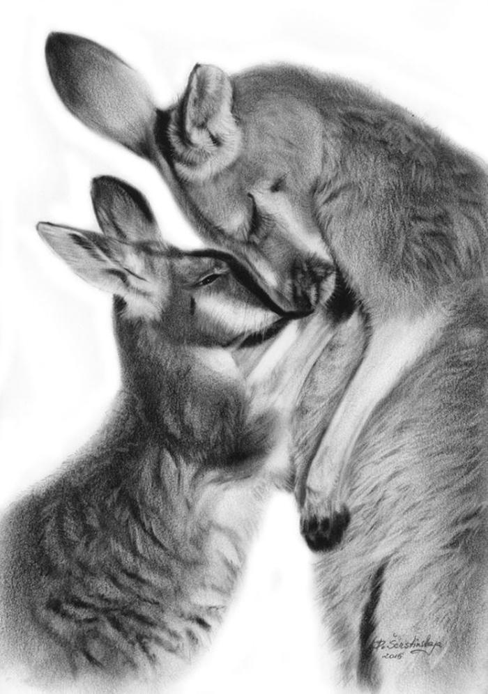 Arta realistica: Lumea animala, in picturi superbe - Poza 7